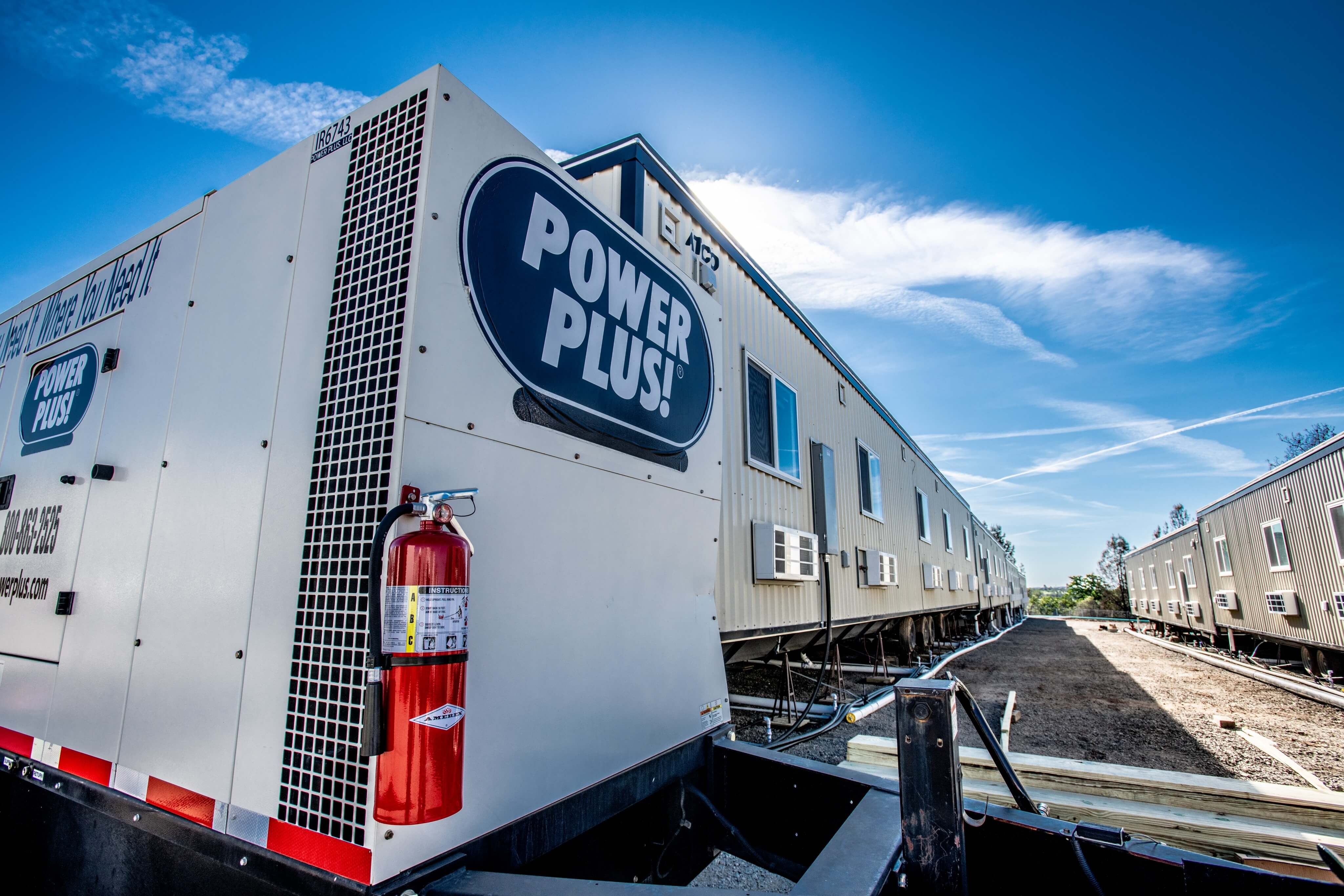 Power Plus helps with disaster relief after the Paradise California fires.